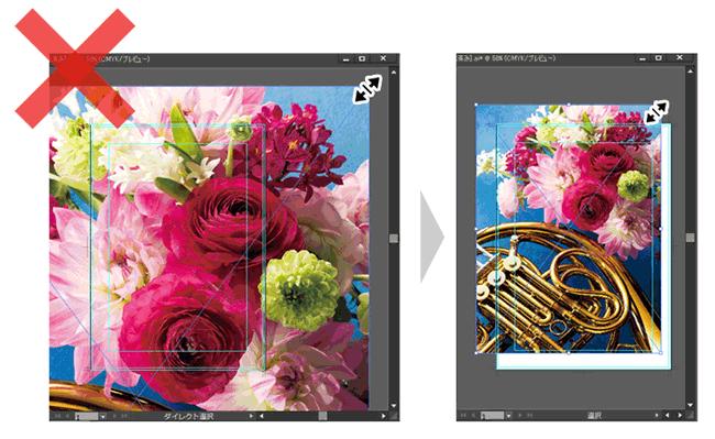イラレで配置した画像を縮小してもデータ容量は変わりません