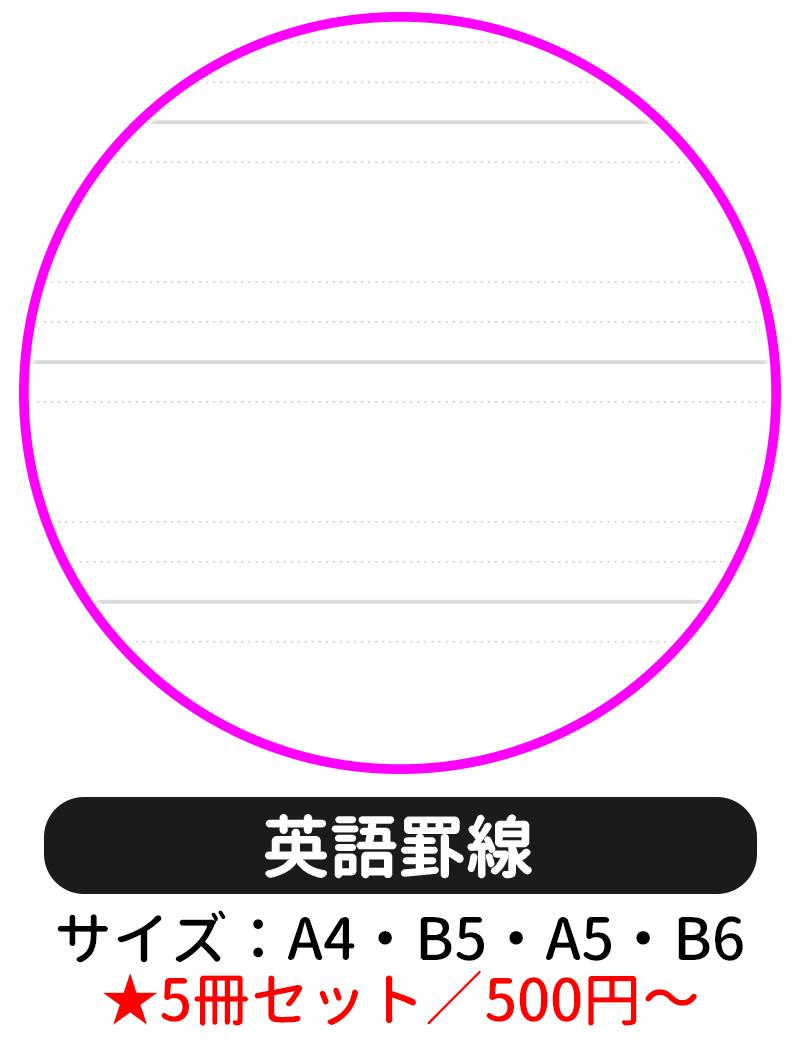 本文ページの罫線タイプを「英語罫線」にして表紙デザインの選択に進む