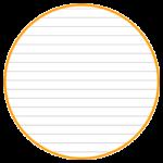 本文が6mm罫線タイプのノートを作ります。