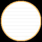 本文が10mm罫線タイプのノートを作ります。