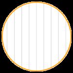 本文がタテ罫線タイプのノートを作ります。