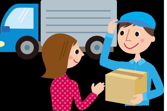 商品は宅配便でお届け致します。