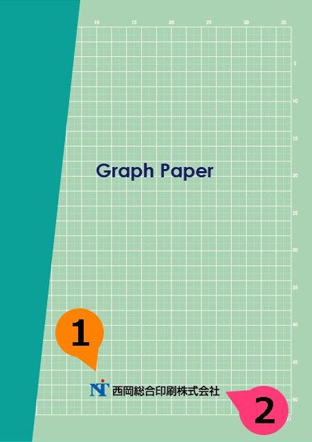 文字の差替ノート「nc019_graph-01」の表紙デザインの画像です。