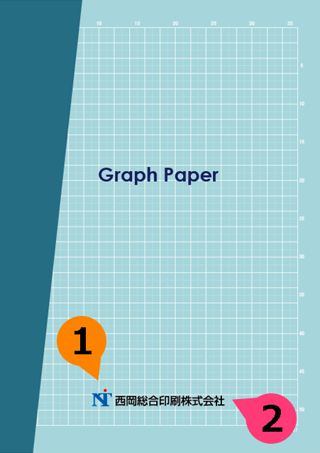 文字の差替ノート「nc020_graph-02」の表紙デザインの画像です。