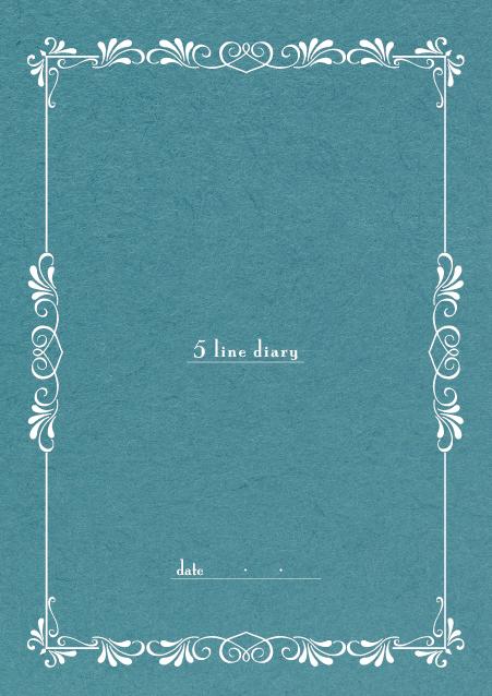HNオリジナルの商品「nn005_5line-01」の表紙デザインの画像です。