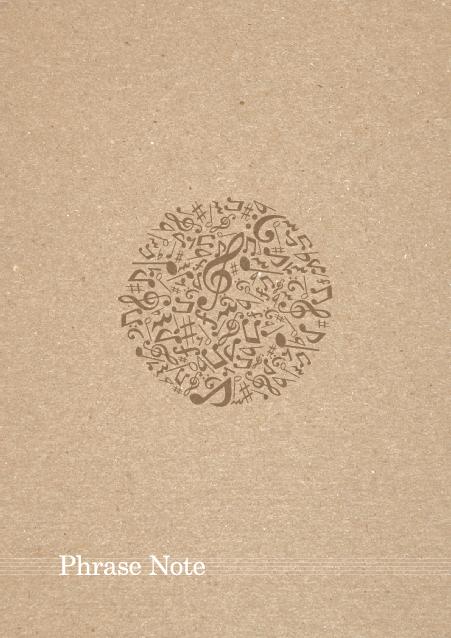 HNオリジナルの商品「nn013_music-01」の裏表紙デザインの画像です。