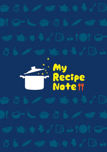 HNオリジナルの商品「nn015_recipe-01」の表紙デザインの画像です。
