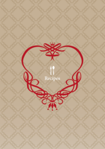 HNオリジナルの商品「nn016_recipe-02」の表紙デザインの画像です。