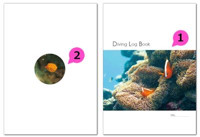 nc016_diving-01の表紙と裏表紙のイメージ画像です。