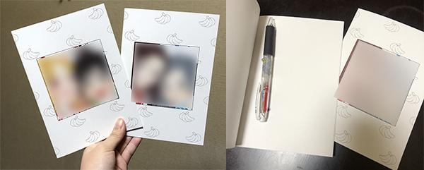 注文したノートの画像です